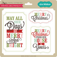 Christmas Labels Print&Cut 5