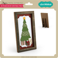 3D Frame Decor Christmas Tree