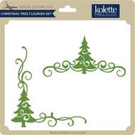 Christmas Tree Flourish Set