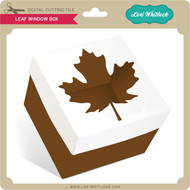 Leaf Window Box