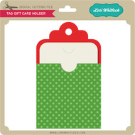 Tag Gift Card Holder