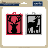 Christmas Tags Deer
