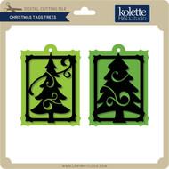 Christmas Tags Trees