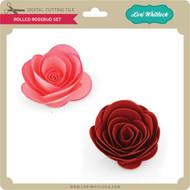 Rolled Rosebud Set