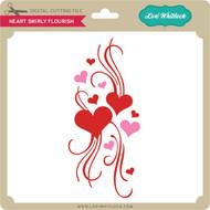 Heart Swirly Flourish