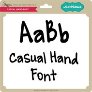 Casual Hand Font