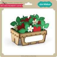 Box Card Strawberry Carton