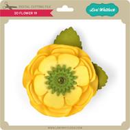 3d Flower 19
