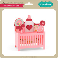Box Card Baby Crib