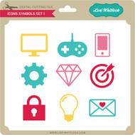 Icons Symbols Set 1