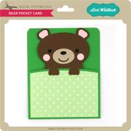 Bear Pocket Card