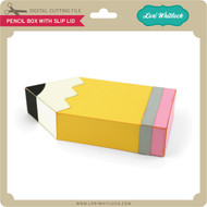 Pencil Box with Slip Lid
