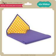 Square Thick Envelope Fits 12x12
