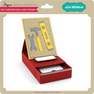 Gift Card Box Easel Card Toolbox