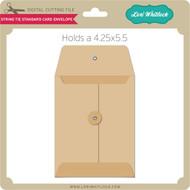 String Tie Standard Card Envelope
