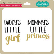 Baby T-Shirt Set: Girl Princess