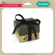 No Glue Favor Box
