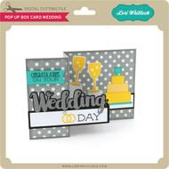 Pop Up Box Card Wedding