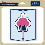 Gatefold Card Cupcake