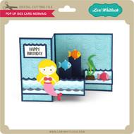 Pop Up Box Card Mermaid