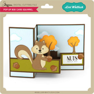 Pop Up Box Card Squirrel