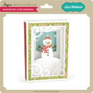 Shadow Box Card Snowman