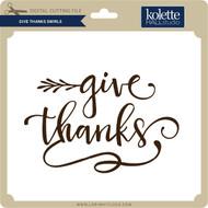 Give Thanks Swirls
