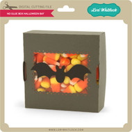 No Glue Box Halloween Bat