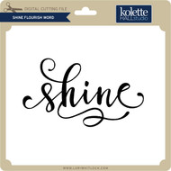 Shine Flourish Word
