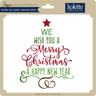 We Wish You a Merry Christmas Tree 2