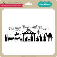 Full Nativity Christmas Christ