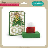 Hand Sanitizer Holder Mistletoe