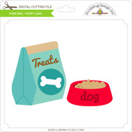 Food Bag Puppy Love