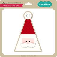 Christmas Tag Santa Claus