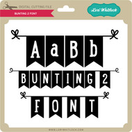 Bunting 2 Font