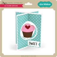 A2 X-Card Cupcake