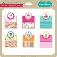 Peek A Boo Card Birthday Bundle