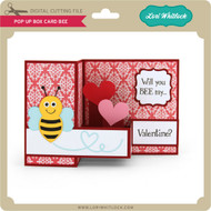 Pop Up Box Card Bee