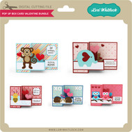 Pop Up Box Card Valentine Bundle