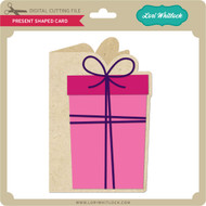 Present Shaped Card