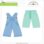 Overalls & Jeans - Snips & Snails