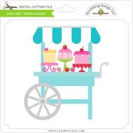 Cake Cart - Cream & Sugar
