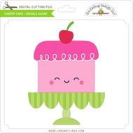 Cherry Cake - Cream & Sugar