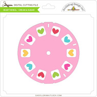 Heart Wheel - Cream & Sugar