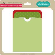 Library Pocket Gift Card Holder