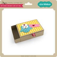 Matchbox Drawer Card Get Well