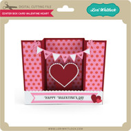Center Box Card Valentine Heart
