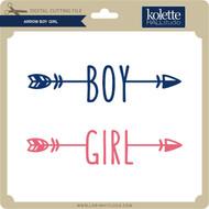 Arrow Boy Girl