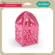 Heart Favor Box 2