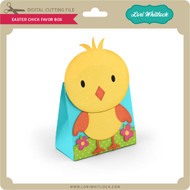Easter Chick Favor Box